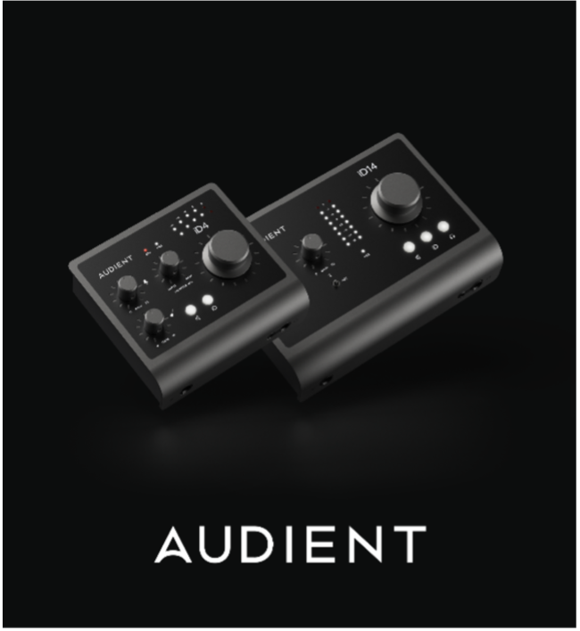 Audient iD4MKII and iD14MKII