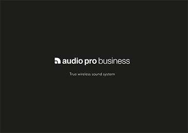 Audio Pro Business brochure