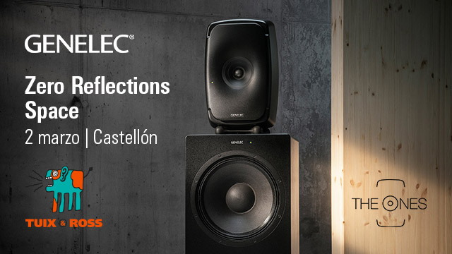El showroom Zero Reflections Space de Genelec se traslada a Castellón