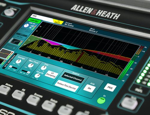 Nuevo firmware V1.5 «Fan's Edition» para la Serie SQ de Allen & Heath