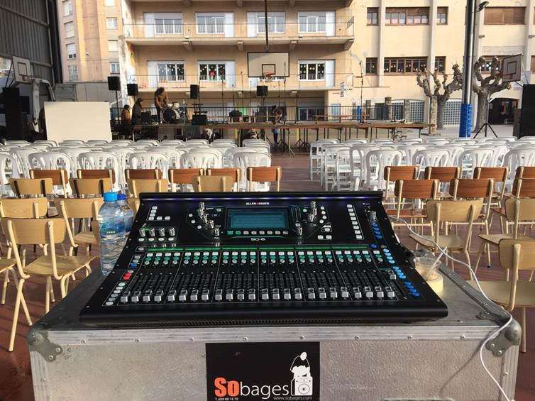 So Bages: un fiel usuario de productos Allen & Heath