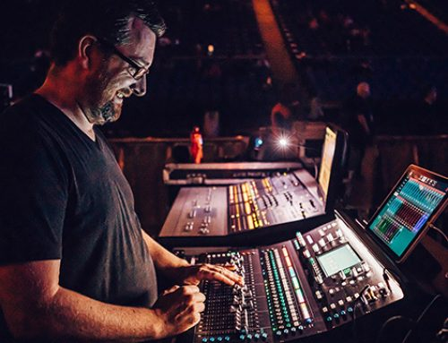 La consola SQ de Allen & Heath triunfa en el O2 Arena con Brass Against