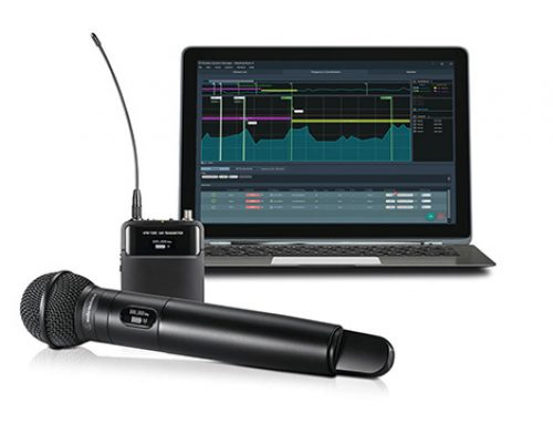 Audio-Technica actualiza el software Wireless Manager con funcionalidad mejorada